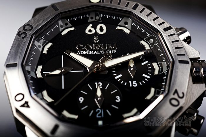 Review CORUM Admiral's Cup Seafender 46 Chrono Dive [live pics, price]