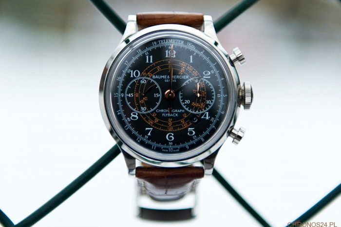 Review Baume&Mercier Capeland Chronograph Flyback [live pics, price]