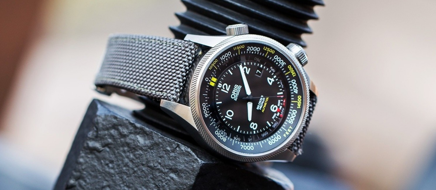 Oris Big Crown ProPilot Altimeter