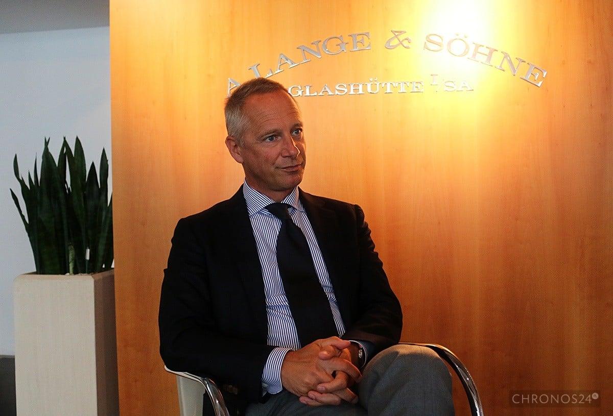 Wilhelm Schmid (CEO A. Lange & Söhne)