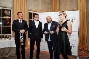 from left: Dariusz Fabrykiewicz (Pernod-Ricard), Piotr Cegłowski (Manager), Rafał Jemielita, Daria Szajnar (W.Kruk)
