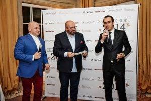 from left: Jarosław Dotka (Manager), Rafał Jemielita, Deanis Chauve (Sales Manager Europe Richard Mille)
