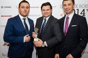 from left: Łukasz Doskocz, Leszek Pilch (Brand Manager Longines), Tomasz Kiełtyka