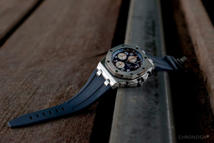 "Review Audemars Piguet Royal Oak Offshore Chronograph ""Navy"" [live pics, price]"