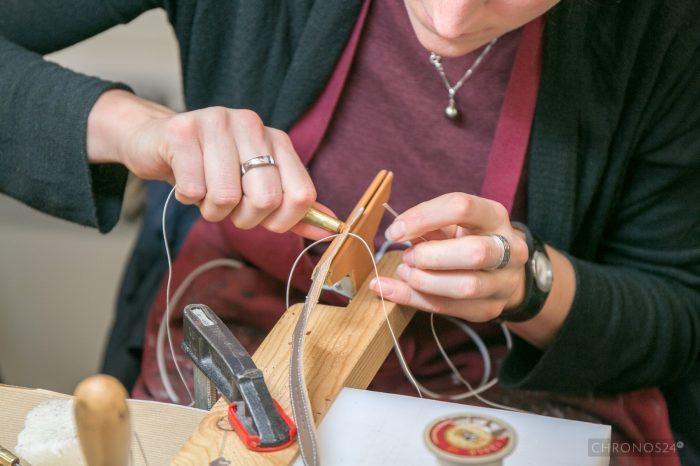 Making of: Hermès watch straps