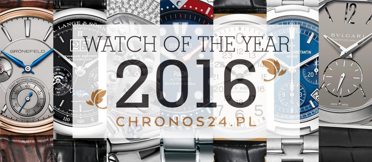 2016 WATCH OF THE YEAR