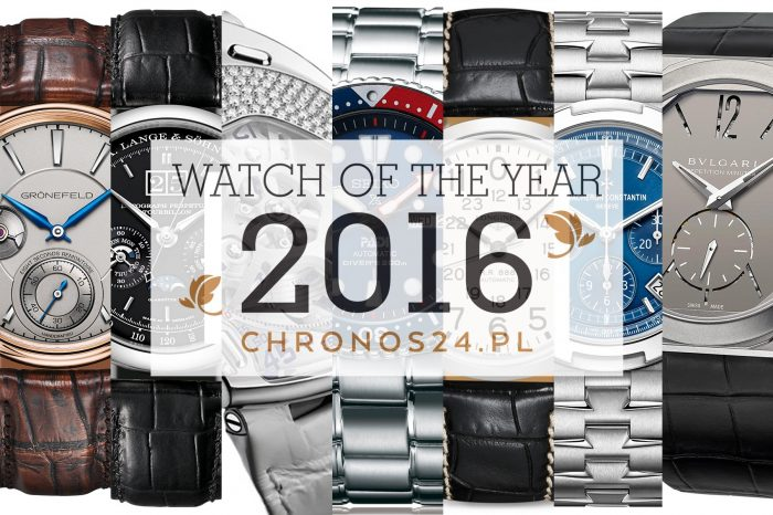 WATCH OF THE YEAR 2016 – winners of the 7th annual edition