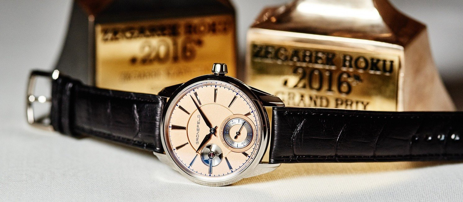 Zegarek Roku 2016 - Grönefeld 1941 Remontoire
