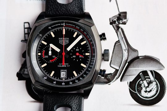 TAG Heuer Monza Chronograph 40th Anniversary