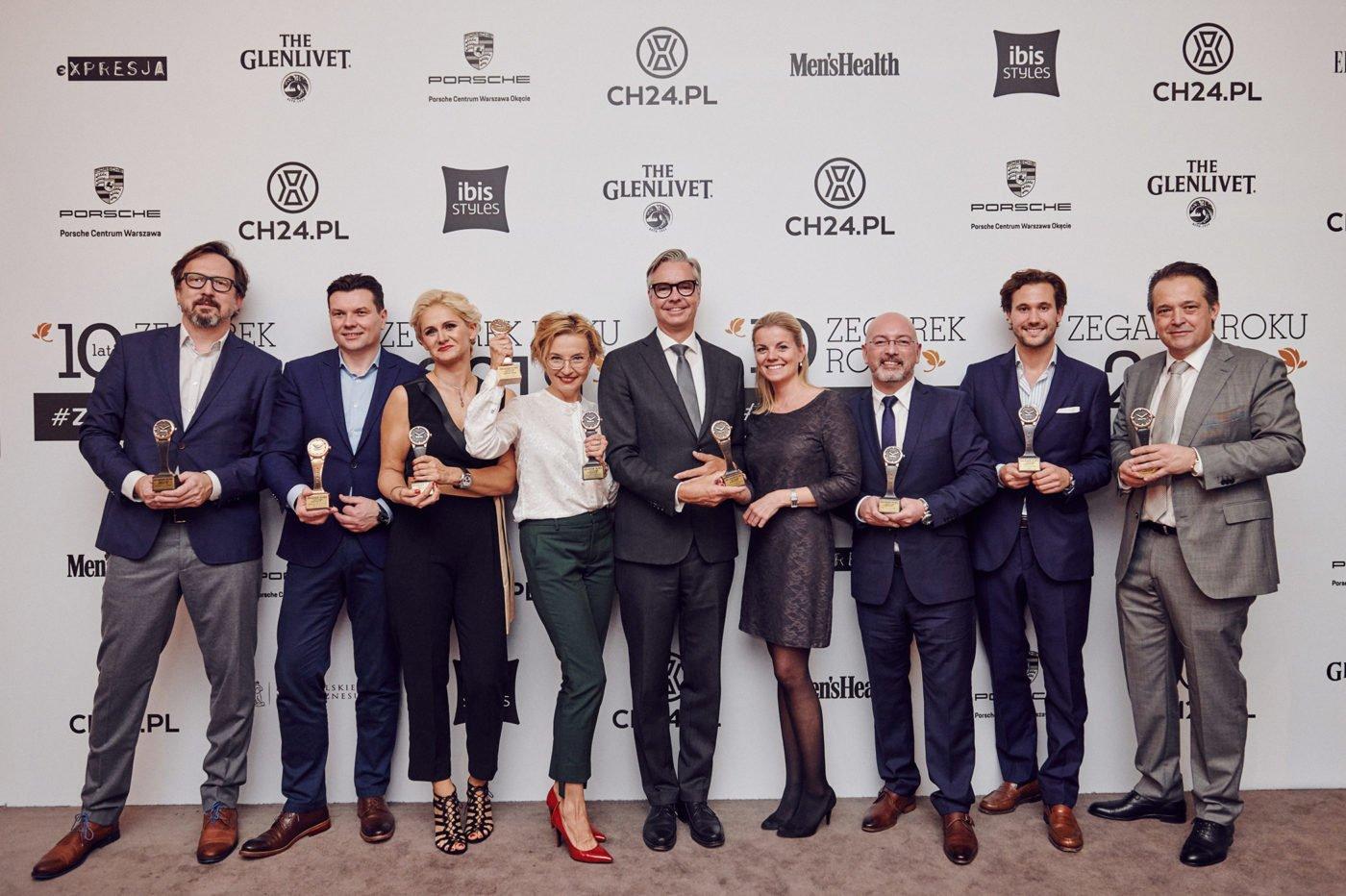 Zegarek Roku 2019 - zwycięzcy 10. edycji