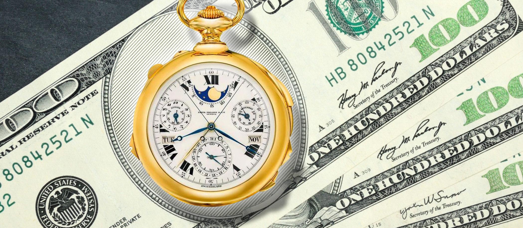 Najdroższe zegarki świata!