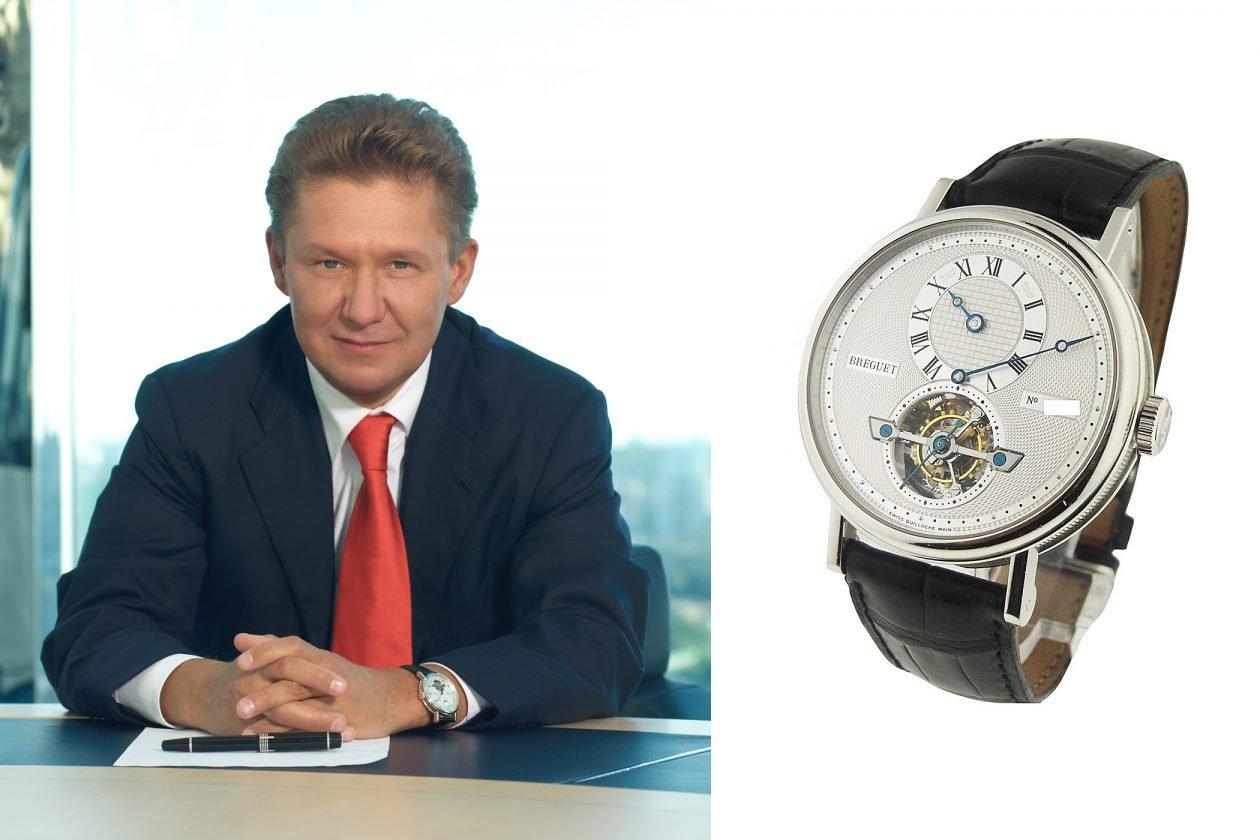Aleksiej Miller and Breguet / photo: essentialwatches