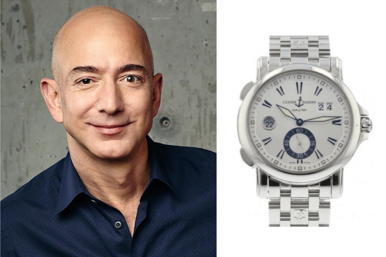 Jeff Bezos and Ulysse Nardin / photo: press materials