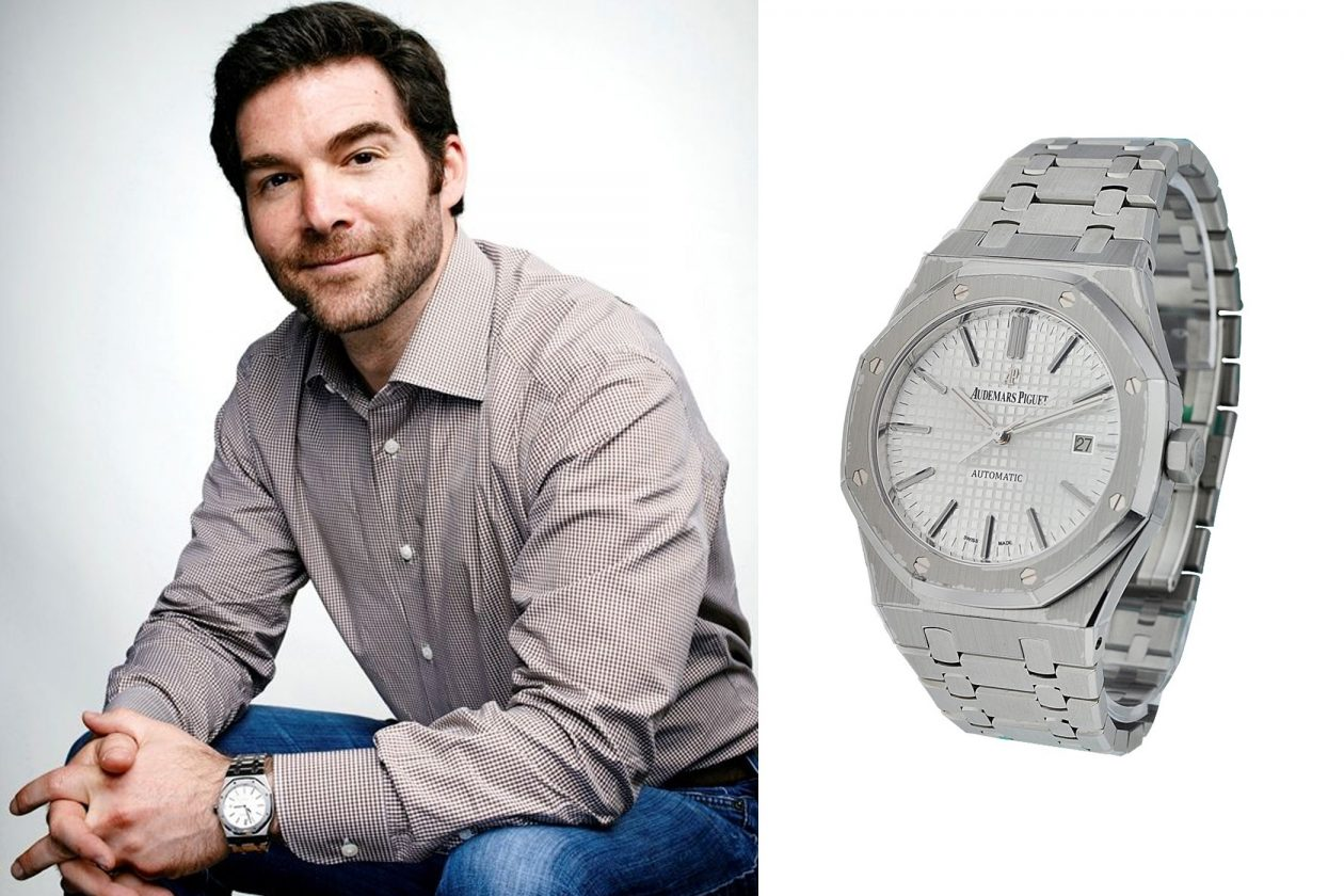 Jeff Weiner and Audemars Piguet / photo: essential-watches.com