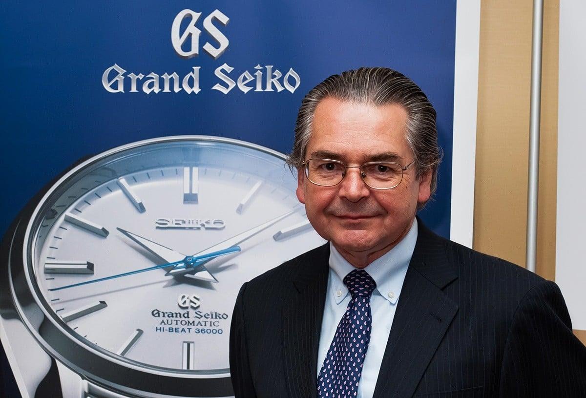Robert Wilson (Dyrektor Marketingu Seiko)