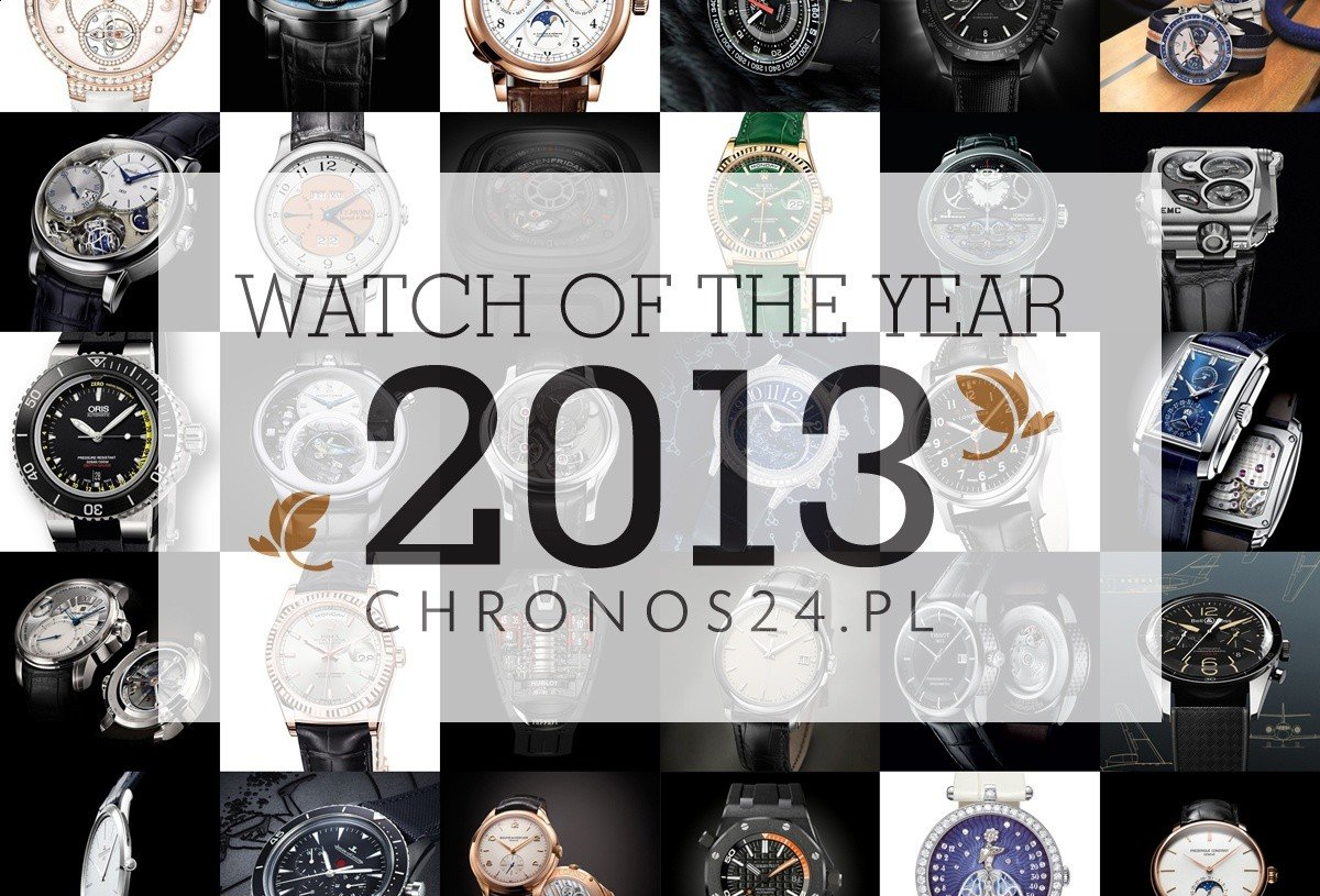 WATCH OF THE YEAR 2013