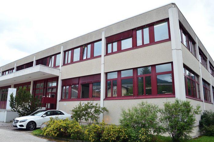 Carl F. Bucherer building in Sainte-Croix