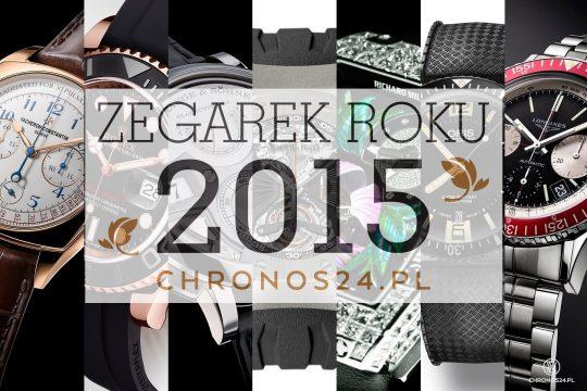 Zegarek Roku 2015