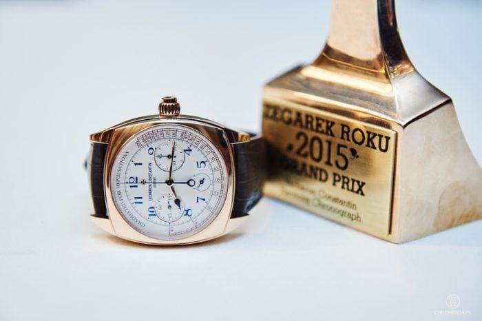 Zegarek Roku 2015 - Vacheron Constantin Harmony Chronograph