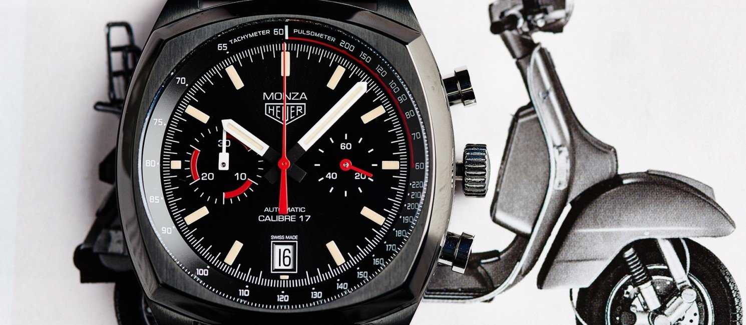 Review TAG Heuer Monza Chronograph 40th Anniversary [availability, live photos, price]