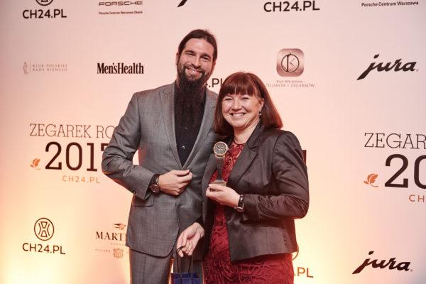 Jan Lidmansky i Nathalie Le Reun (Jaeger-LeCoultre)