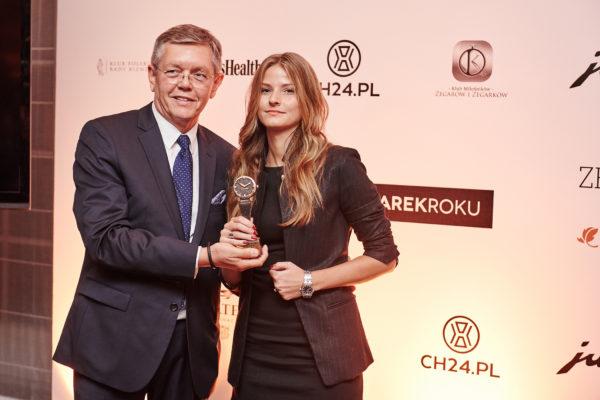 Eugeniusz Szwed (KMZiZ) i Paula Miszczuk (Hermitage Boutique)