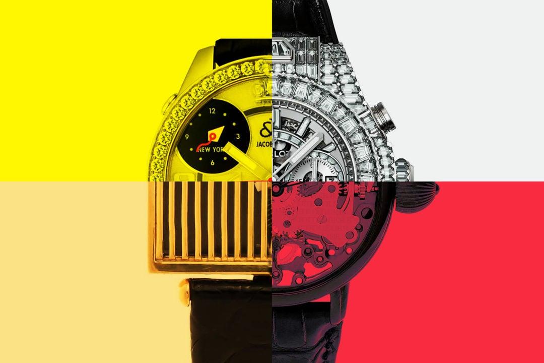 Timebloid: 5 zegarków o wyglądzie budzącym największe kontrowersje