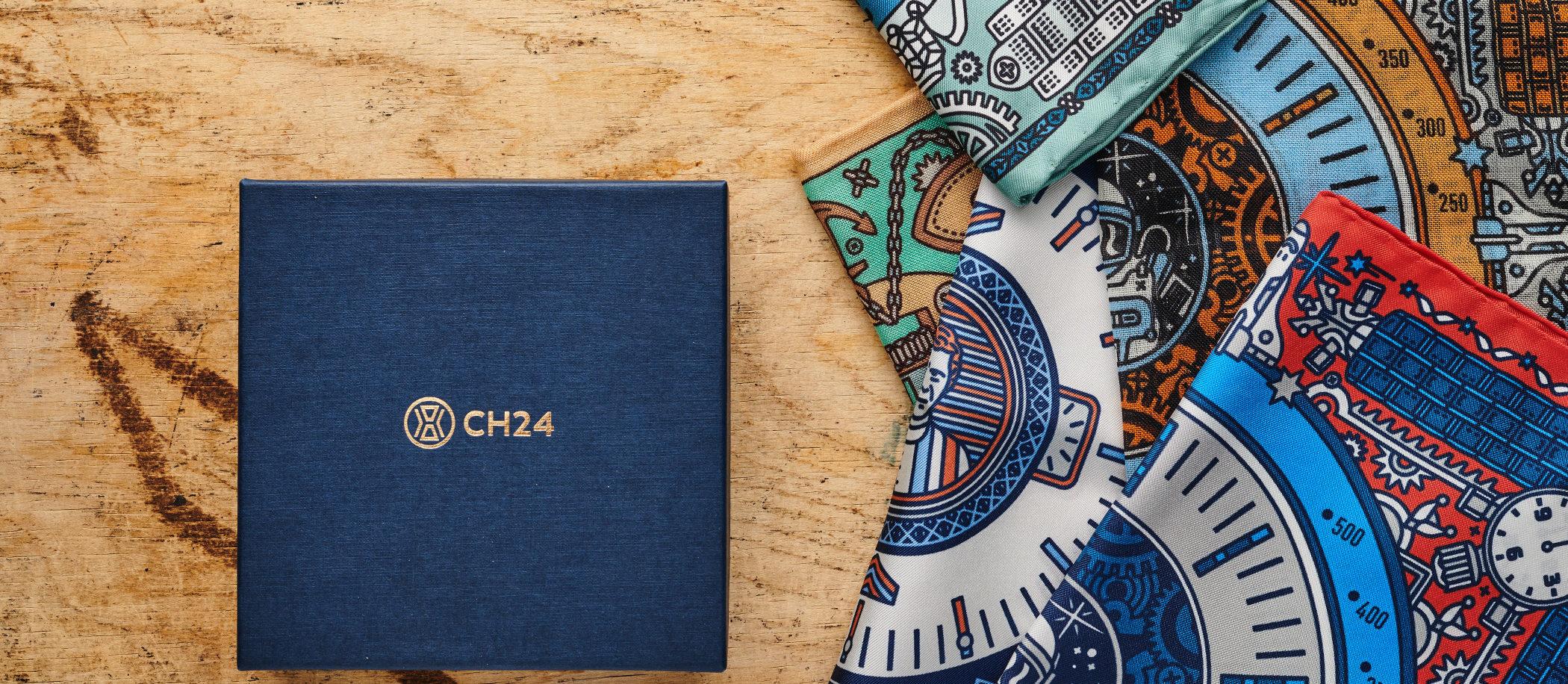 """Sklep CH24 - poszetki """"Kultowe Zegarki"""""""