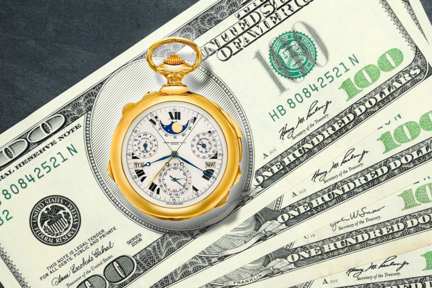 Timebloid TOP 9 most expensive watches in history