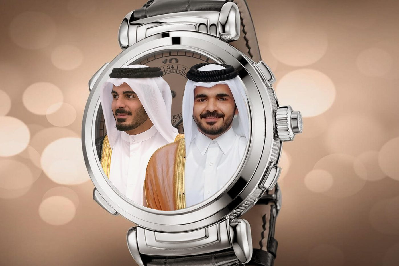 Timebloid Petro-watches aka what is worn by Qatar sheikh royalties – Joaan Bin Hamad & Khalifa Bin Hamad