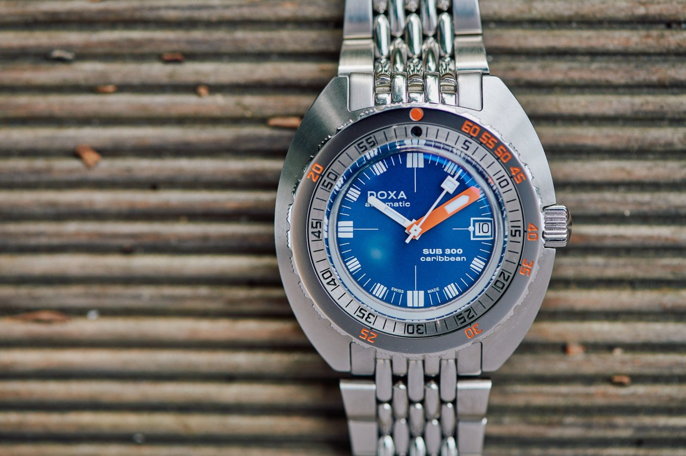 "Review Doxa SUB 300 ""Caribbean"" [live photo, price]"