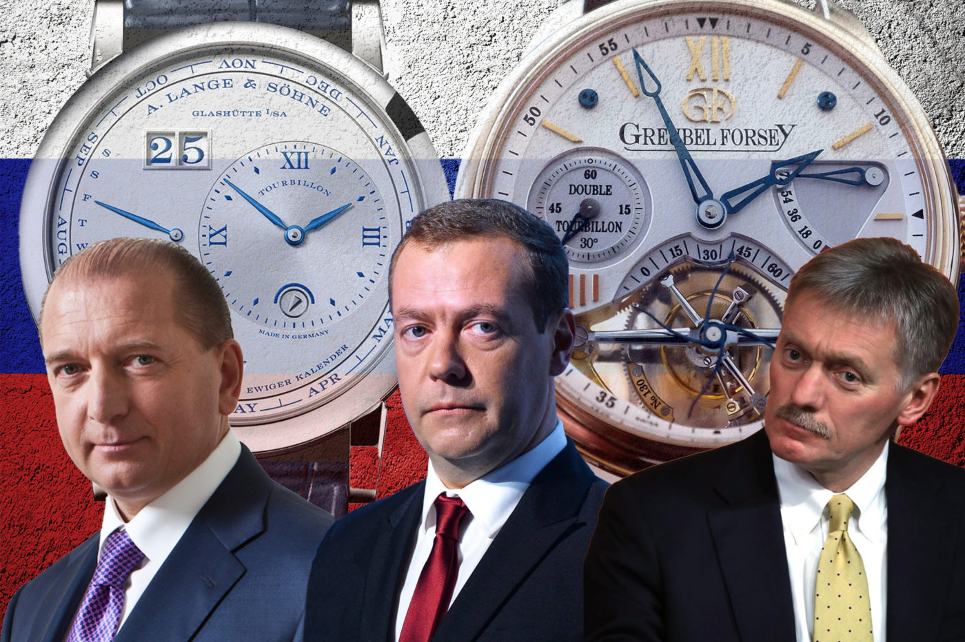 Timebloid Spectacular watches of Russian oligarchs